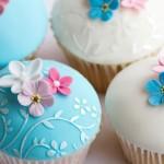Blaue Muffins