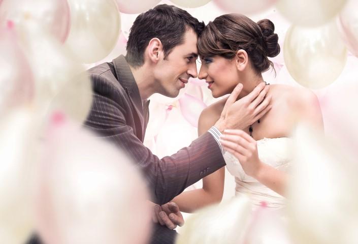 Stil der Hochzeitsfotos