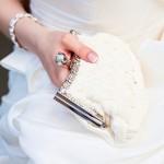 Clutch als Brauttasche