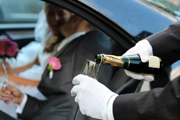 Fahrservice zur Hochzeit