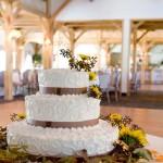 Hochzeitstorte mit Ornamenten