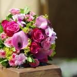 Klassischer Blumenstrauss Rosen