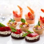 Kleine Snacks zur Hochzeit