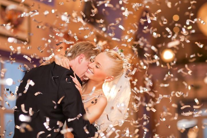 Musik und Hochzeitstanz