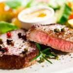 Rindfleisch-Filet als Hauptgang