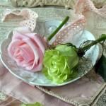 Rosa Romantische Tischdeko