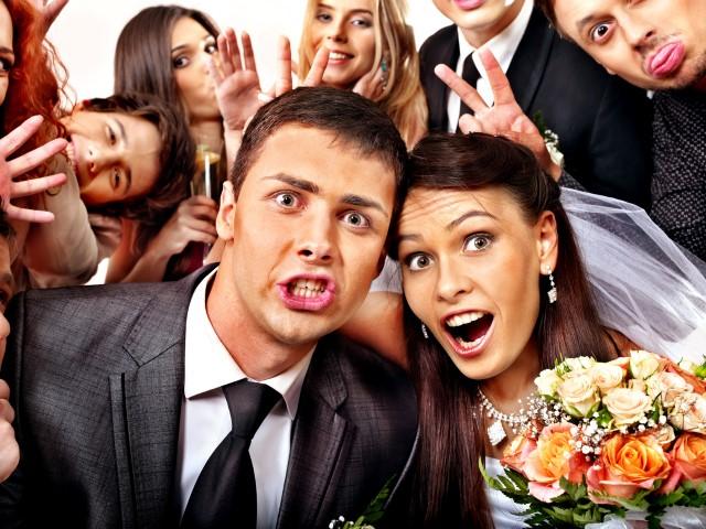 Selfi Hochzeitsfoto