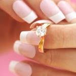 Verlobungsringaus Gold
