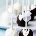 Brautpaar Cakepops