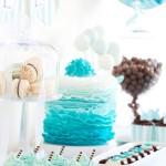 Candy Bar in Blau