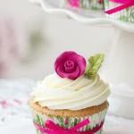 Cupcakes mit Rosen