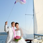 Hochzeit auf der Yacht