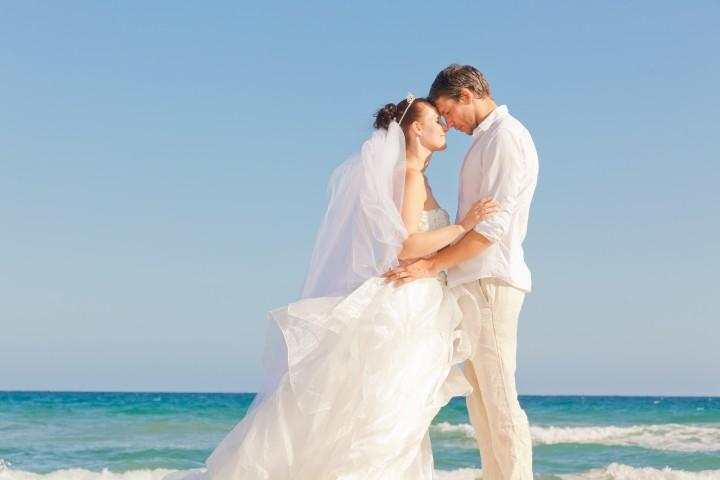 Hochzeitsfeier am Strand