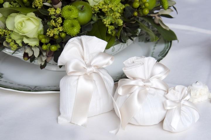 Hochzeitsmandeln als Gastgeschenke