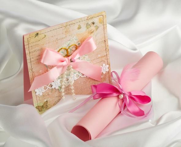 Deko romantische Einladung