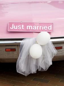 Luftballons als Hochzeitsdeko