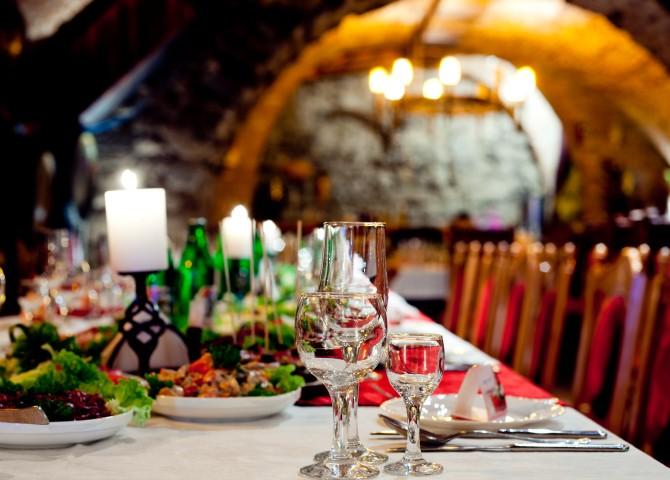 Traditionelles Essen zur Hochzeit