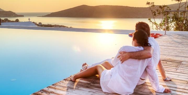 Romantische Flitterwochen